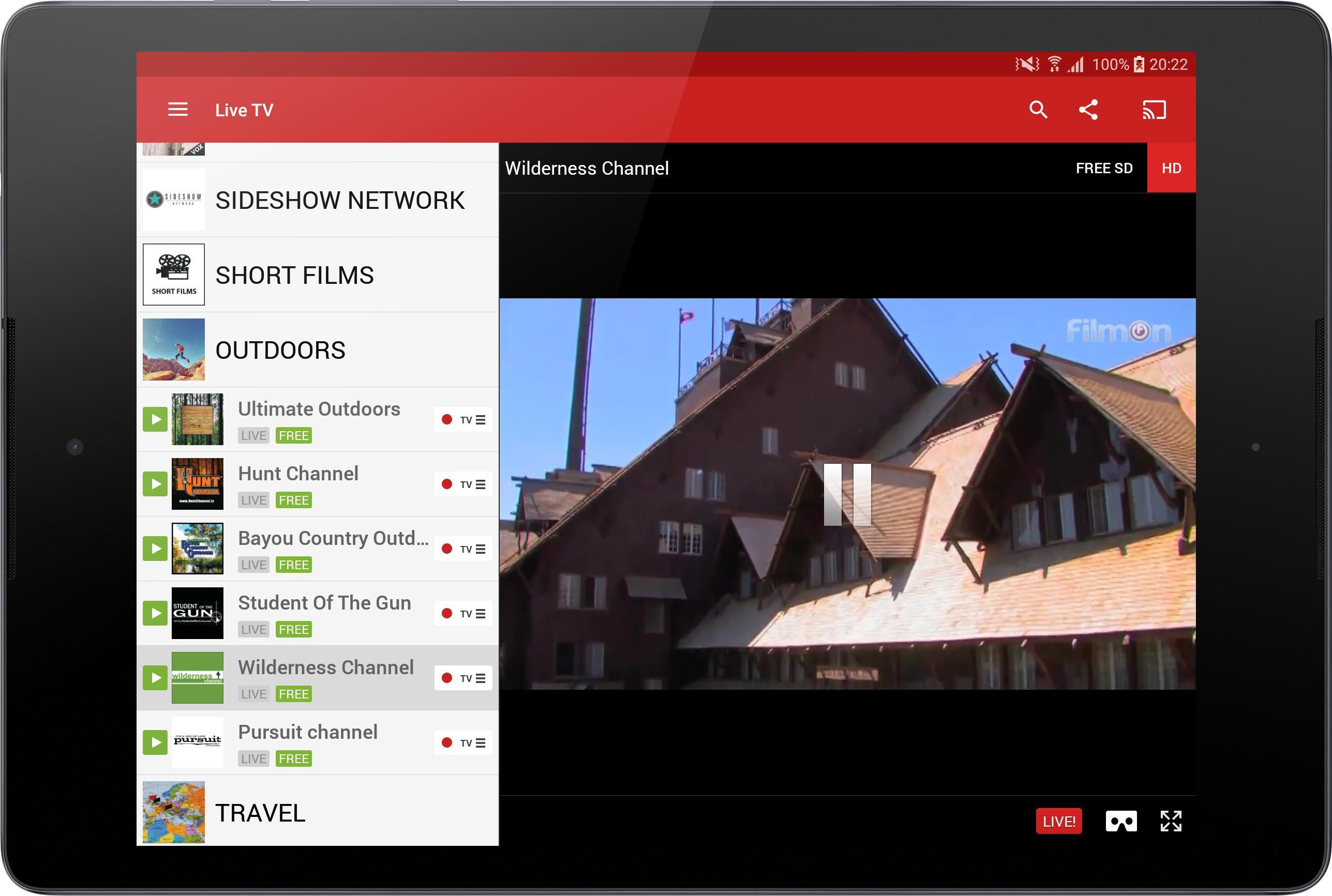 FilmOn Free Live TV for Android - APK Download