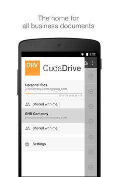 CudaDrive poster