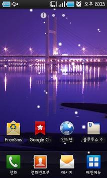 Night Scenery Livewallpaper screenshot 2