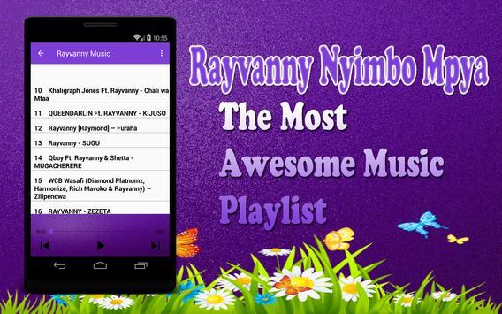 Rayvanny Nyimbo Mpya - TABIA apk screenshot