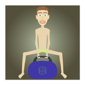 Gym clicker: train skinny icon