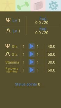 Gym clicker: train skinny screenshot 4