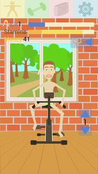 Gym clicker: train skinny screenshot 1