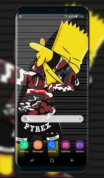 Bart S Wallpaper 2018 poster