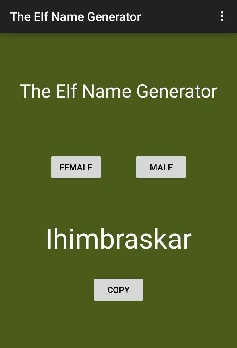 The Elf Name Generator for Android - APK Download
