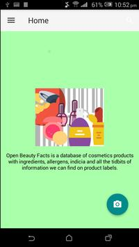 Look up food ingredients,allergens,nutrition facts poster