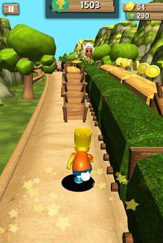 Bart Simpson Run Jungle screenshot 1