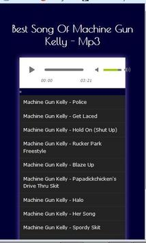 All Songs Machine Gun Kelly poster