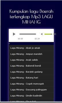 Kumpulan Lagu Minang - Mp3 poster
