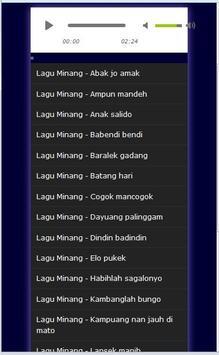 Kumpulan Lagu Minang - Mp3 apk screenshot