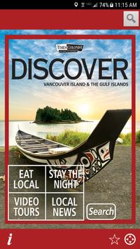 Discover Vancouver Island poster
