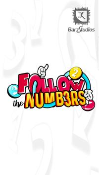 Follow the Numbers - Puzzle Game poster
