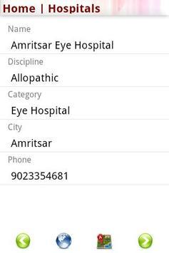 Hospital Directory India apk screenshot