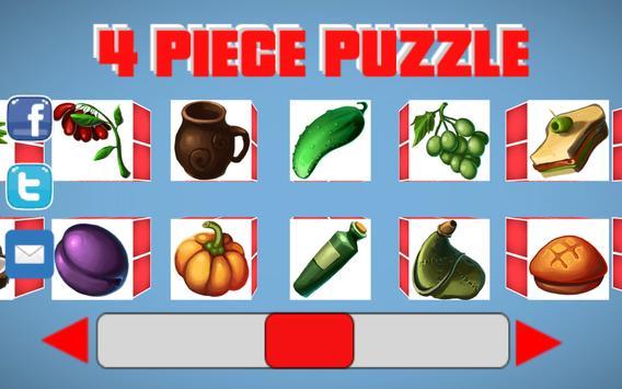 4 PIECE PUZZLE apk screenshot