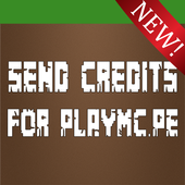 Send Credits For PlayMC.PE icon