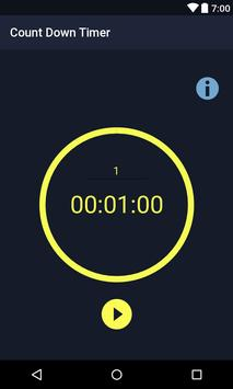 Count Down Timer apk screenshot