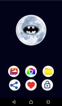 Bat photo editor poster