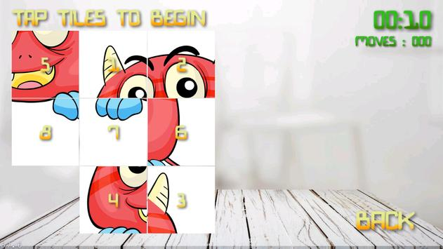 Monsters Puzzle for Kids screenshot 1