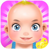 Babysitter Newborn Baby Care - Babysitting Game icon