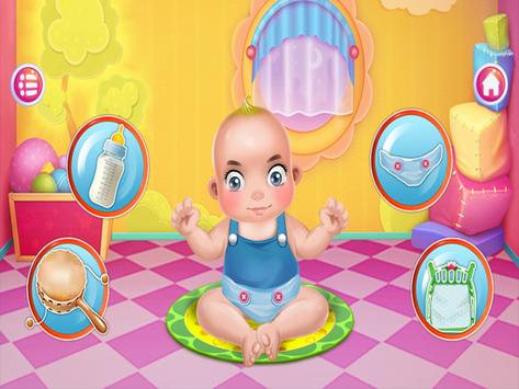Babysitter Newborn Baby Care - Babysitting Game screenshot 1