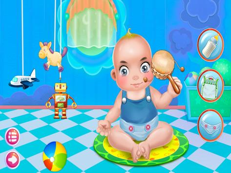 Babysitter Newborn Baby Care - Babysitting Game screenshot 4
