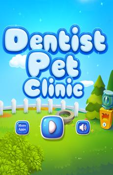 Dentist Pet Clinic Kids Games poster