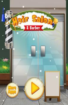 Hair Salon & Barber Kids Games poster