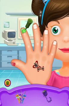 Hand & Nail Doctor Kids Games apk screenshot