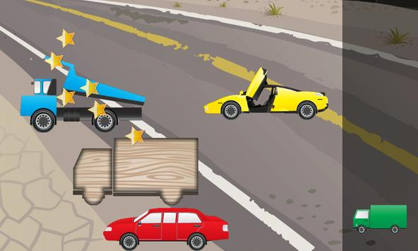Puzzle for Toddlers Cars Truck apk screenshot