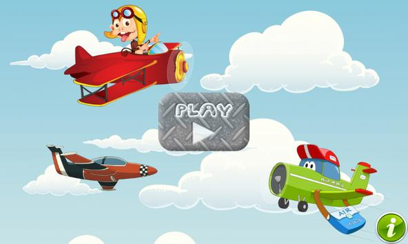 Airplane Games for Toddlers poster