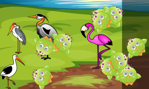 Birds Game for Toddlers Puzzle apk screenshot