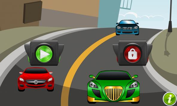 Cars Puzzle for Toddlers Games poster
