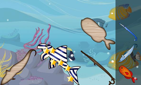 Puzzle for Toddlers Sea Fishes apk screenshot