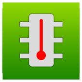 CPU temperature monitor – FacelTemp icon