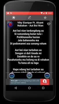 Lagu Batak Romantis Mp3 + Lirik apk screenshot