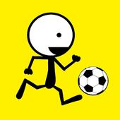 kick sticmann soccer free icon