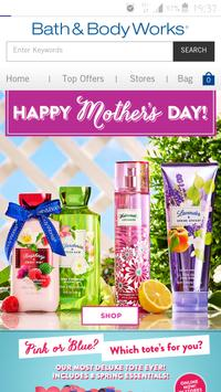 bath and body works app poster