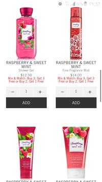 bath and body works app screenshot 1