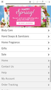 bath and body works app screenshot 2