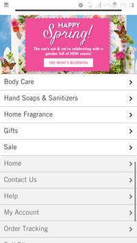 bath and body works app screenshot 2