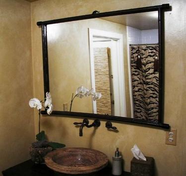 bathroom mirror ideas poster