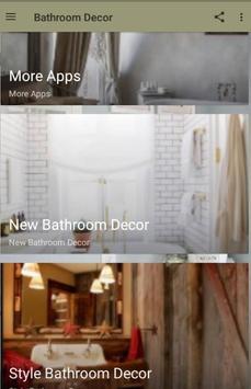 Bathroom Decor poster