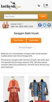 BatikUnik.com apk screenshot