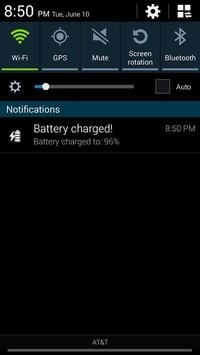 Battery Charge Alert apk screenshot