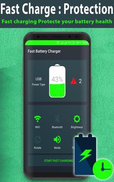 Fast Charge - Fast Battery Charger & Battery Saver screenshot 1