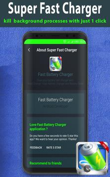 Fast Charge - Fast Battery Charger & Battery Saver screenshot 4