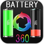 Battery saver 360 HD icon