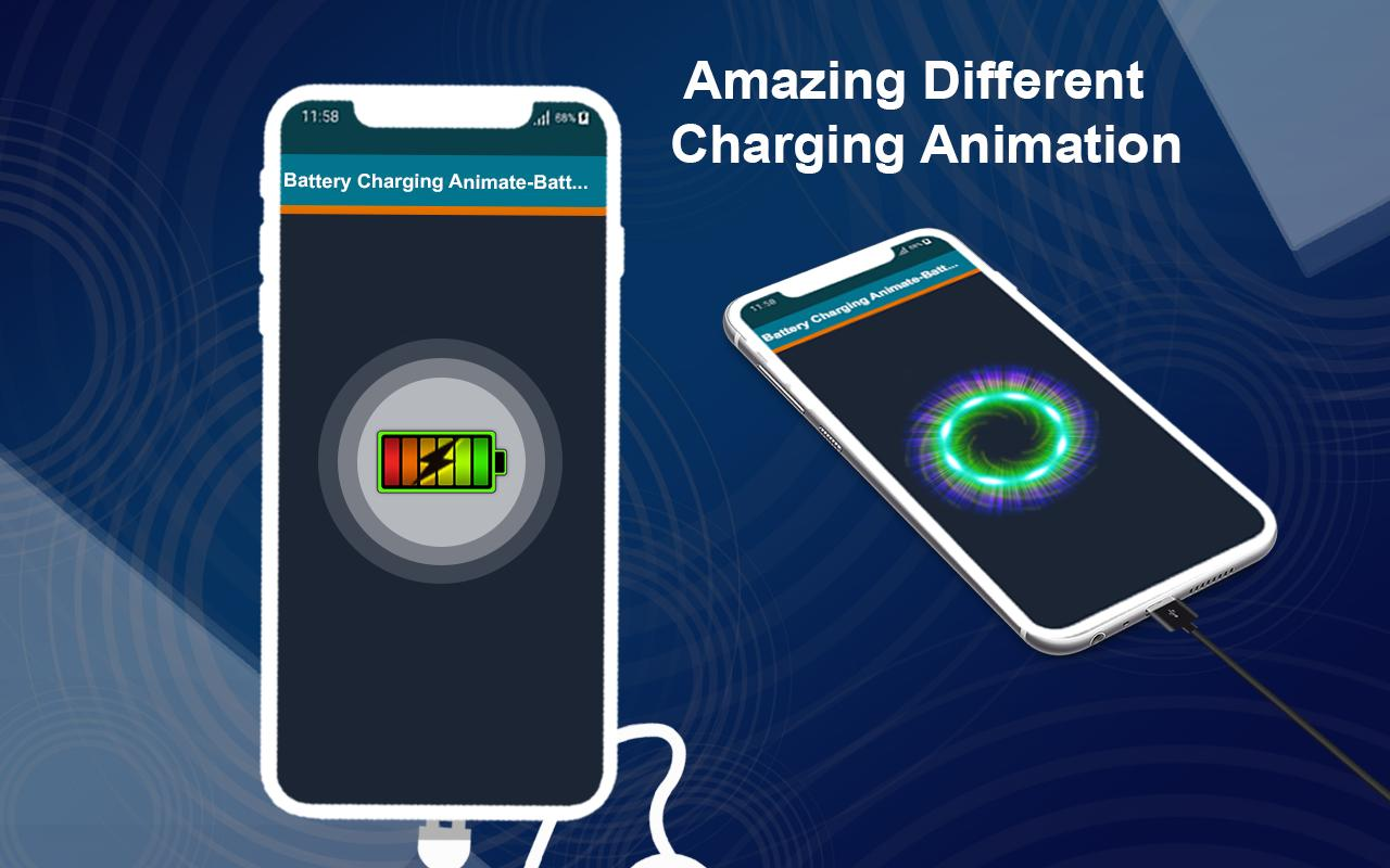 Battery Saver with Battery Full Alarm & Animation for
