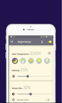 Blue Light Filter Night Mode apk screenshot