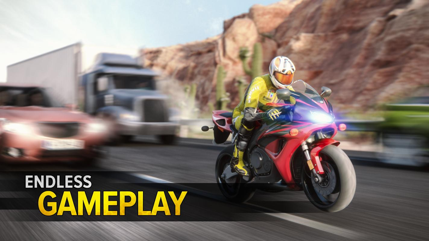 Game Balap Motor Highway Rider Motorcycle Race